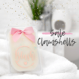 SALE Wax Melt Clamshells